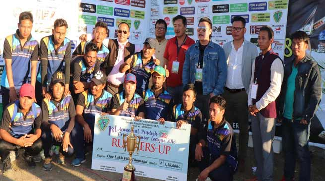 Itanagar:  Yomgo Yorkers lift the 1st Arunachal Pradesh T20 Cricket Premier League-2018