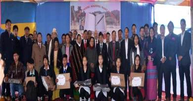 Arunachal: Jomin Tayeng Academic Merit Award 2018 distribution ceremony held