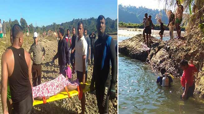 Arunachal:  NDRF retrieved 2 dead bodies