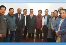 Photo of NPP discussed Arunachal Political Scenario