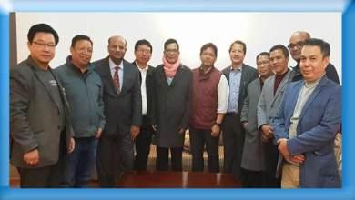 Photo of NPP discussed Arunachal Political Scenario