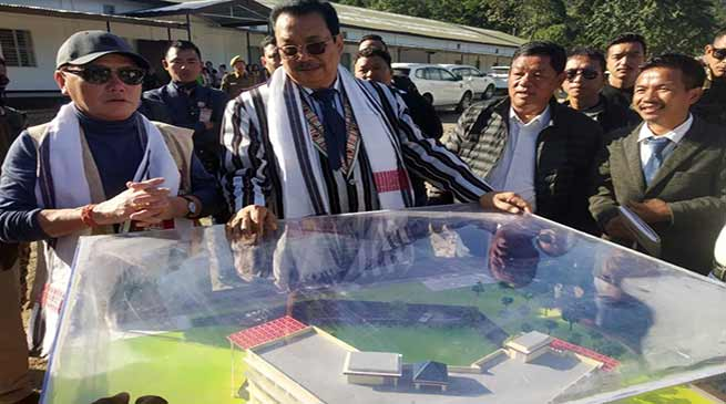 Arunachal: Mein, Rebia visits proposed Centre for Bioresource & Sustainable Development at Kimin