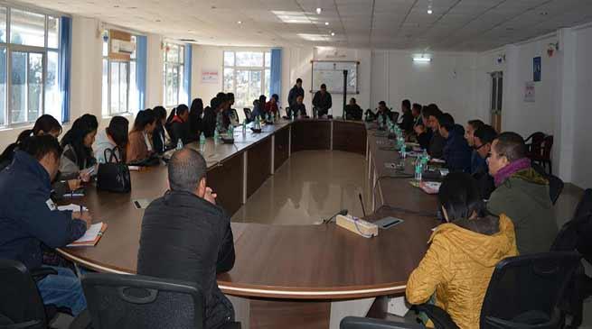 Arunachal: Training of Gram preraks under Arunachal Rising campaign held at Tawang