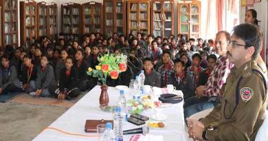 Itanagar: Capital police organise sensitisation on cyber crime with students