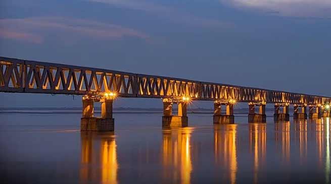 PM Modi will inaugurate Bogibeel Bridge on Dec 25th