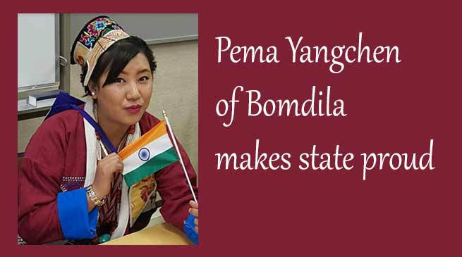 Arunachal: Pema Yangchen of Bomdila earns internship in UN'S FAO