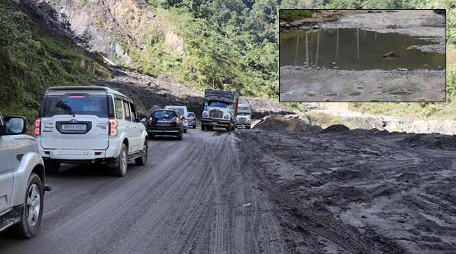 Arunachal: poor condition of Papu Nallah-Yupia-Hoj-Potin road make life miserable