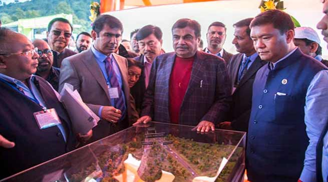 Watch Video and Read complete list of NH projects laid by Nitin Gadkari in Ziro and Roing