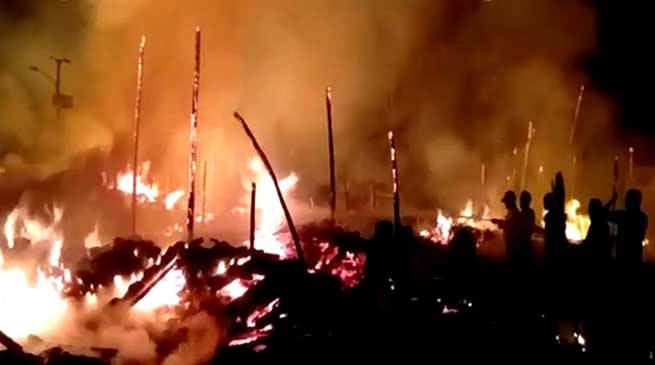 Pasighat Fire incident: CM seeks detail report from dist admin