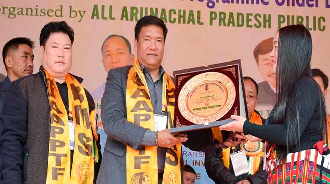 Itanagar: Taxi service will grow in capital area in coming days- Pema Khandu