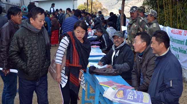 Arunachal: Tawang's 20th Sarkar Aapke Dwar held at Kharteng village