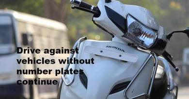 Itanagar: Drive against vehicles without number plate continues, Rs 1.5 lakh collected as fine