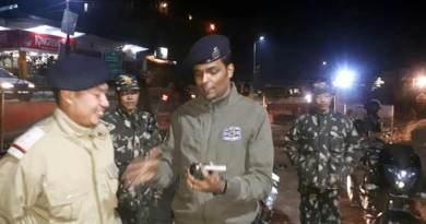 Itanagar: Elaborate security arrangement made for new year celebration