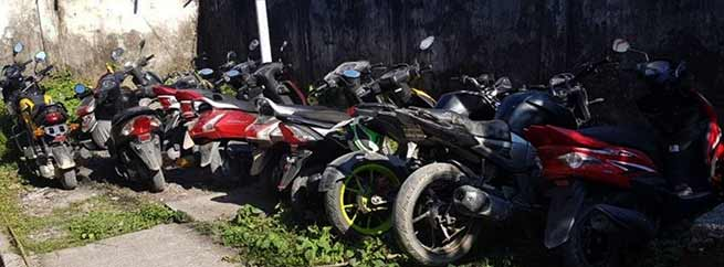 Itanagar: Capital Police caught 72 two wheeler without number plate while 26 seized