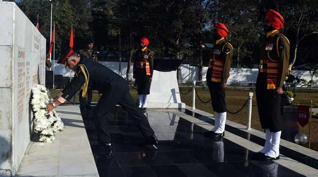 Sukna Military Station Celebrates Vijay Diwas