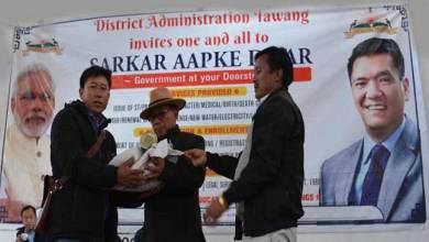 Photo of Arunachal: Sarkar Aapke Dwar reaches Last Indian Village in Tawang dist