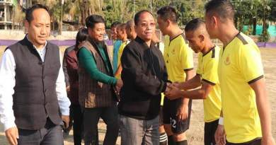 Arunachal: PTC FC lift up the 6th Veteran cup football tournament