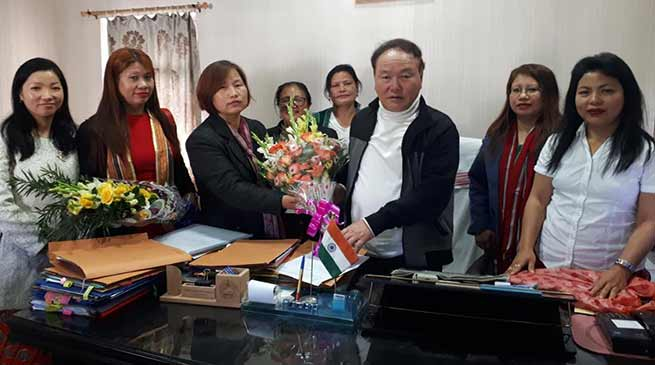 Arunachal: Rebia appeal APSCW to work for welfare of women community