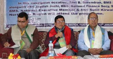 Itanagar: workers are the backbone of the development- Jagdish Joshi