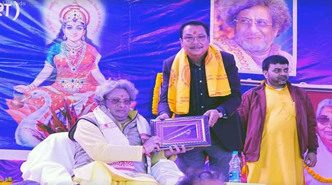 Arunachal: Mein attends inaugural program of Gayatri Shaktipeeth temple at Sunpara