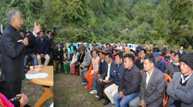 Arunachal Governor visits Darak Circle