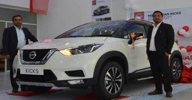 Itanagar : Nissan launches the new KICKS