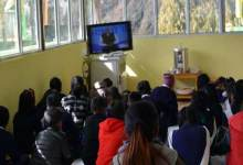 "Photo of Arunachal: Teacher, Students in Tawang watched PM Modi's ""PARIKSHA PE CHARCHA"""