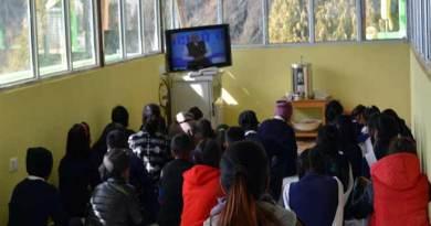 "Arunachal: Teacher, Students in Tawang watched PM Modi's ""PARIKSHA PE CHARCHA"""