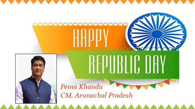 In R-Day Message, Khandu Says we involved everyone in our mission of a NEW ARUNACHAL