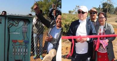 Arunachal: Rebia inaugurates 11KV HT line to Putung colony