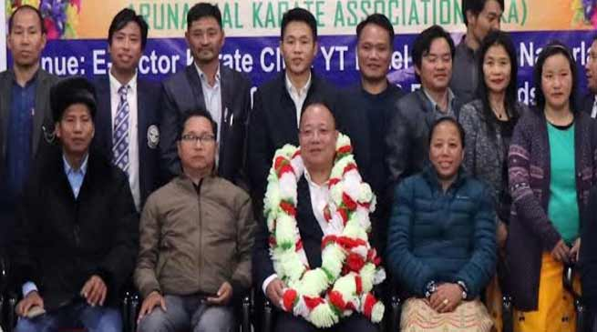 Arunachal: KAI president Sihan Likha Tara accorded warm welcome