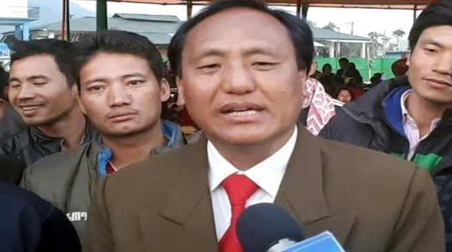 Itanagar: Takam Sorang trying for second term from Tali Assembly Constituency