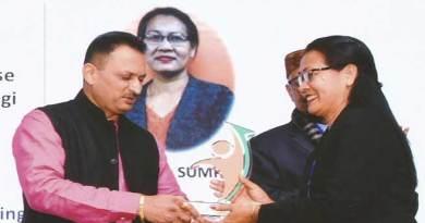 Itanagar: Tana Sumpa gets National Entrepreneurship Awards 2018