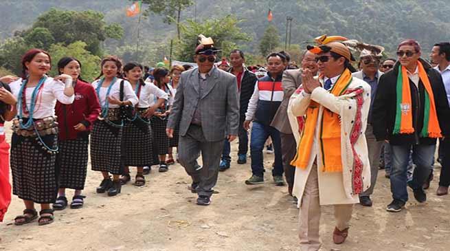 Arunachal: Creation of Sagalee dist will be top of my agenda-Tarh Hari