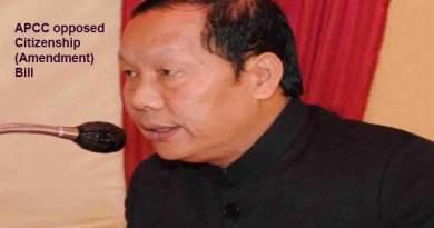 Arunachal: APCC opposed Citizenship (Amendment)Bill