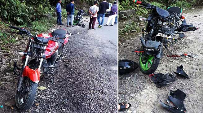 Itanagar: 1 killed, two critically injured in collision on Jullang-Papu Nallah road