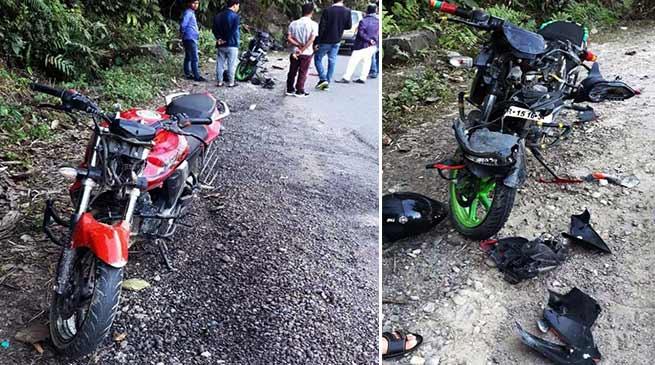 Itanagar: 1 killed, two critically injured in collision onJullang-Papu Nallah road