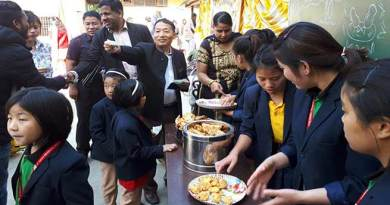 Itanagar: 'charity food festival' held at St. Thomas Residential School