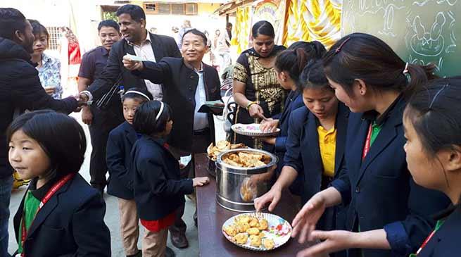 Itanagar: 'charity foodfestival' held at St. Thomas Residential School