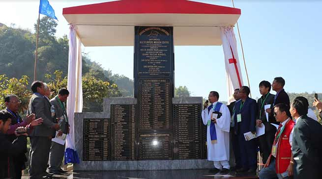 Itanagar: foundation stone laid for Multipurpose Mission centre of APCRCC
