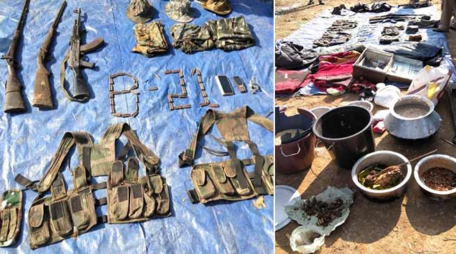 Arunachal: Gun battle between security forces and rebels, 1 Injured, 4 arrested, Huge arms recovered