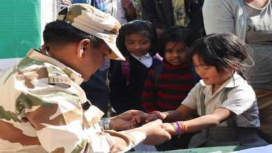 Arunachal: ITBP conduct medical camp for school children