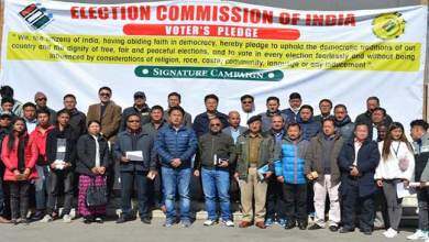 Photo of Arunachal: National Voter's day was observed in Tawang