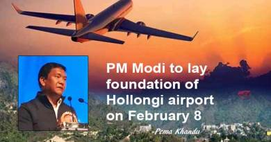 Arunachal: PM Modi to lay foundation of Hollongi Airport on Feb 8