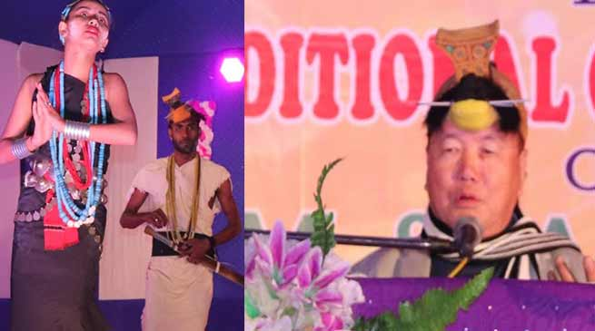 Arunachal: Rebia attends 2nd interstate cultural festival-2019