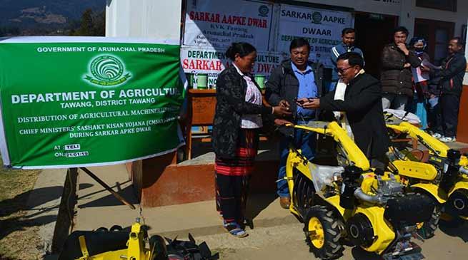 Arunachal: Tawang's 22nd Sarka Aapke Dwar held at Teli Village