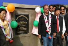Itanagar: Techi Kaso inaugurates upper primary School at Lor Potung