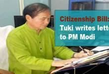 Photo of Arunachal: Tuki writes letter to PM Modi, Manmohan Singh and Pema Khandu