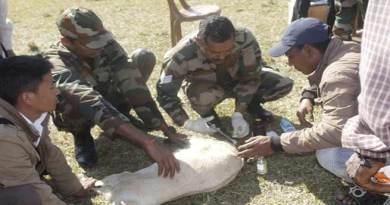 Arunachal: Army Organises Veterinary camp in Namsai