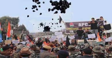 Arunachal:Itanagar witnesses massive protest against CAB